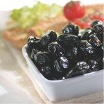 Black Oven Cooked Olives